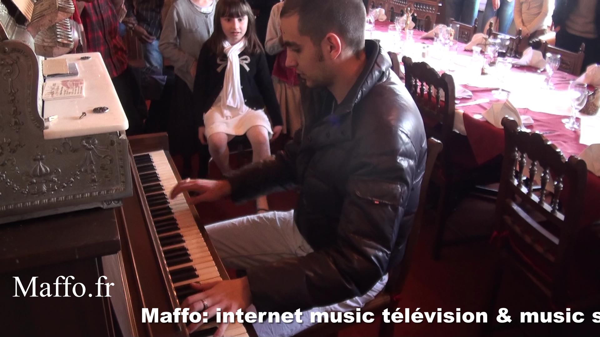 Ray charles Piano, Concert Nadine N°10 By Maffo Fr